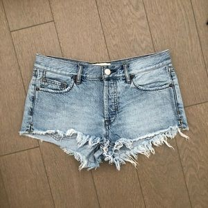 Free People Cheeky Denim Shorts